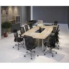 Business Office 6 - Mobilier de bureau complet en bois mélaminé pour la maison, la salle de réunion, l'école et les arbres