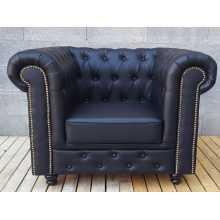 Chester - Canapé de bar et fauteuil Contract personnalisés en éco-cuir (cuir écologique), tissu et velours pour locaux.