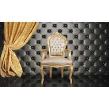 Lambris pour canapés de bar et fauteuils contract, revêtement en éco-cuir (cuir écolo), coloris au choix